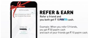 Earn Free Paytm Cash 2019