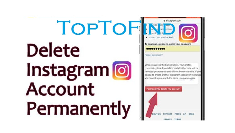 How To Permanently Delete An Instagram Account 2019