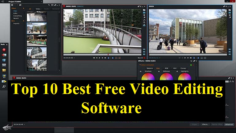 Top 10 Best Free Video Editing Software 2019