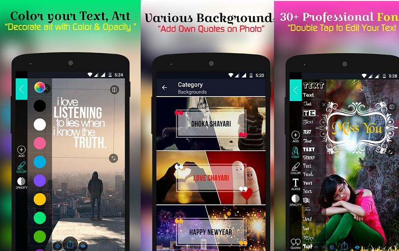 best status maker app