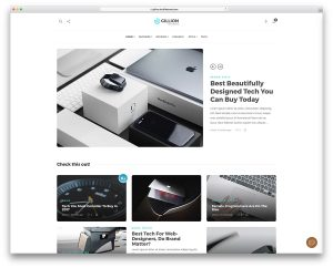 best wordpress themes for technology website