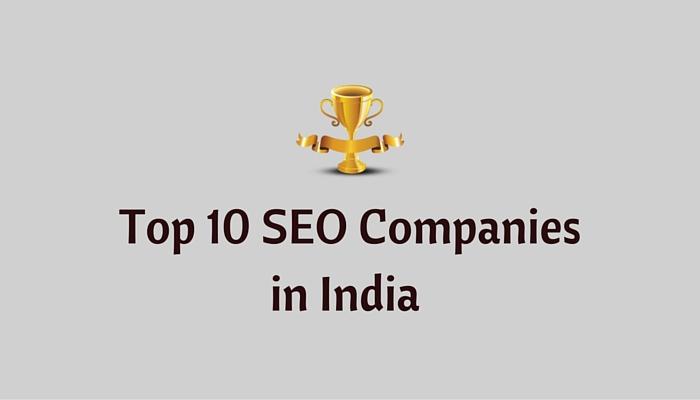 Top 10 Best SEO Companies in india