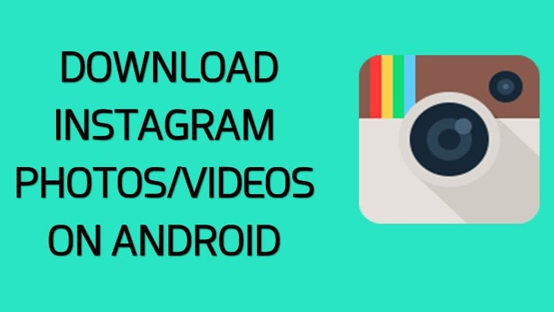 How to download images from Instagram