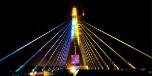 signature bridge delhi