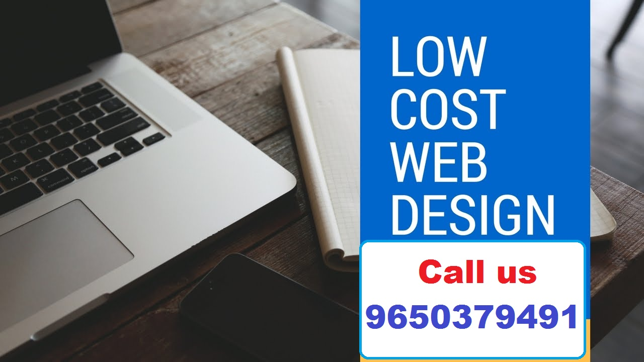 Low Cost web design In india