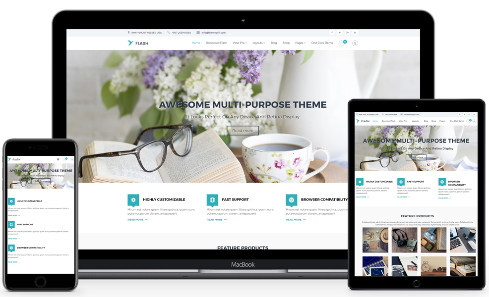 best wordpress theme for business website