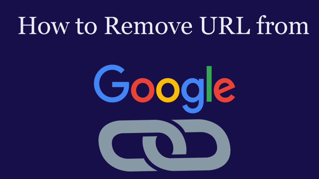 How can I remove a URL on my website from the Google Index?