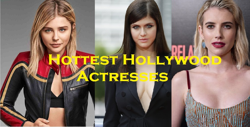 Top 10 Hottest Hollywood Actresses