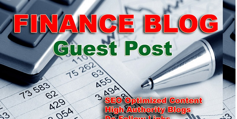 finance blogs that accept guest posts